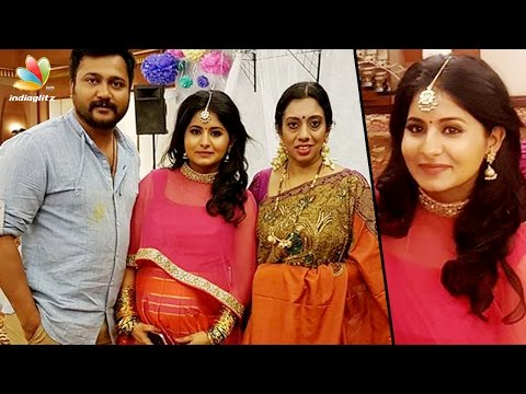 Bobby Simha - Reshmi Menon expecting their first baby | Baby Shower - Seemantham Function
