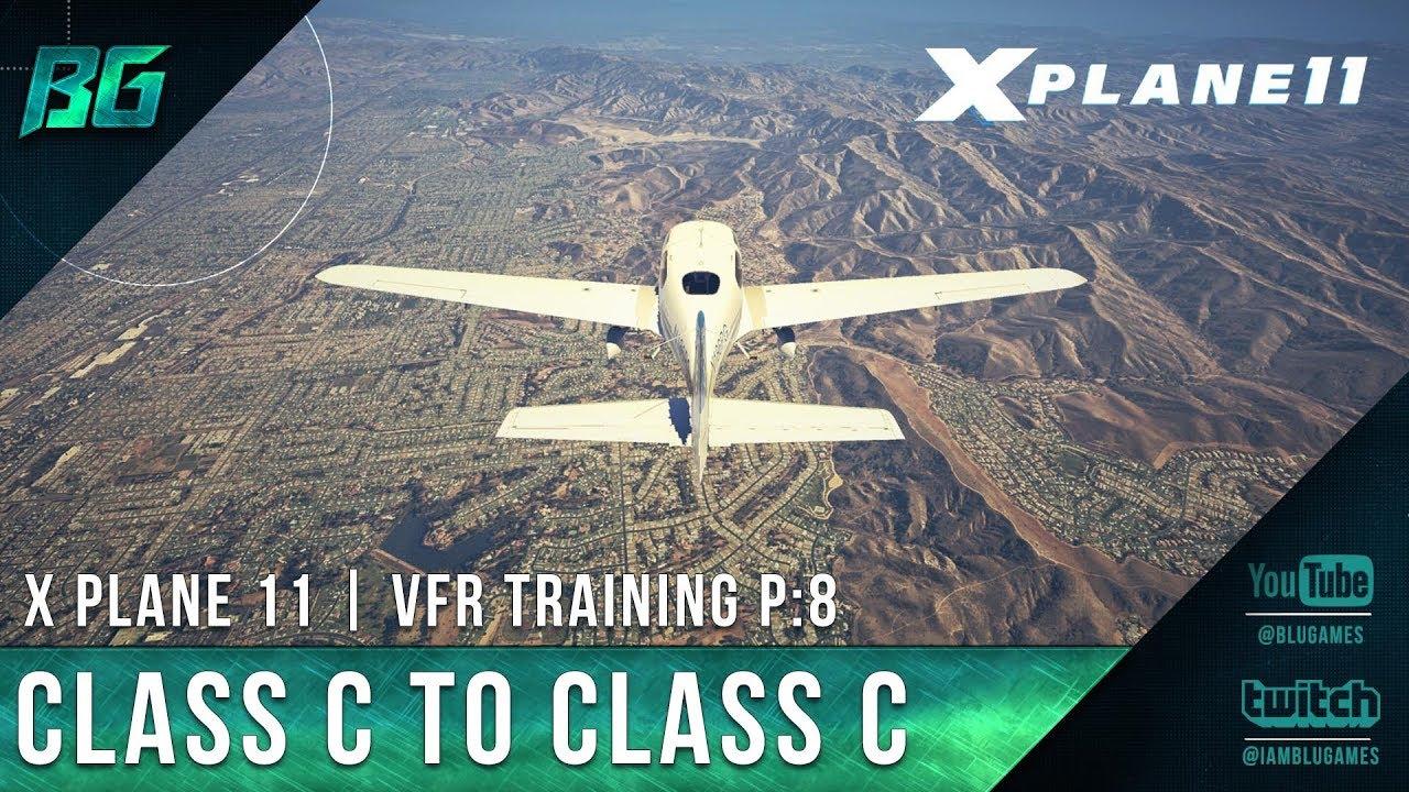 Pilotedge CAT-08 | Class C Departure & Arrival | VFR Training [X-Plane 11]
