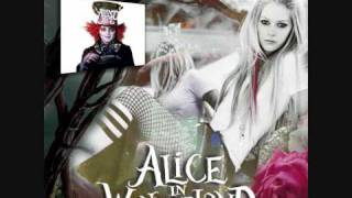 "Avril Lavigne - ""Alice"" from Tim Burton"