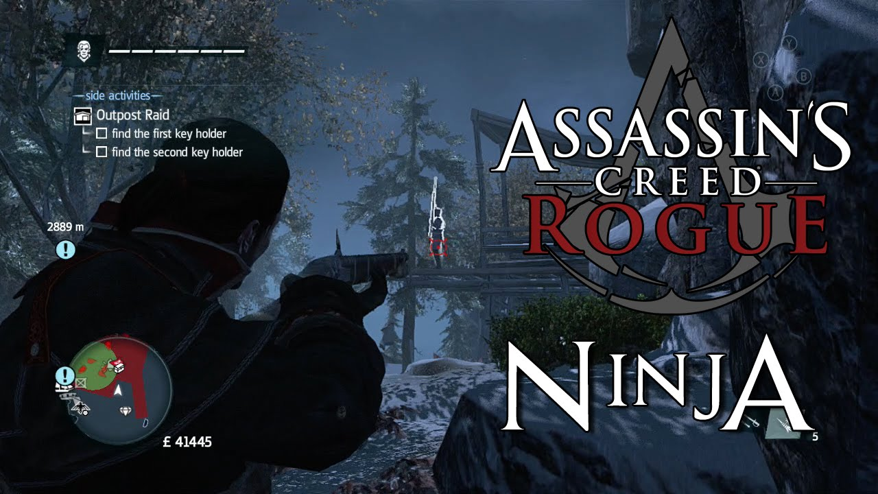 Assassin S Creed Rogue Achievement Guide Ninja Youtube