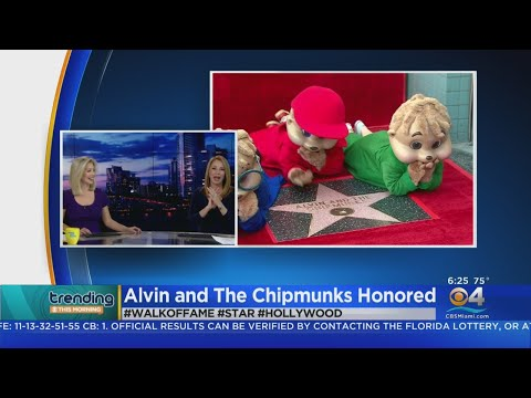 Aaron Zytle - Alvin And The Chipmunks Get A Star On The Walk Of Fame