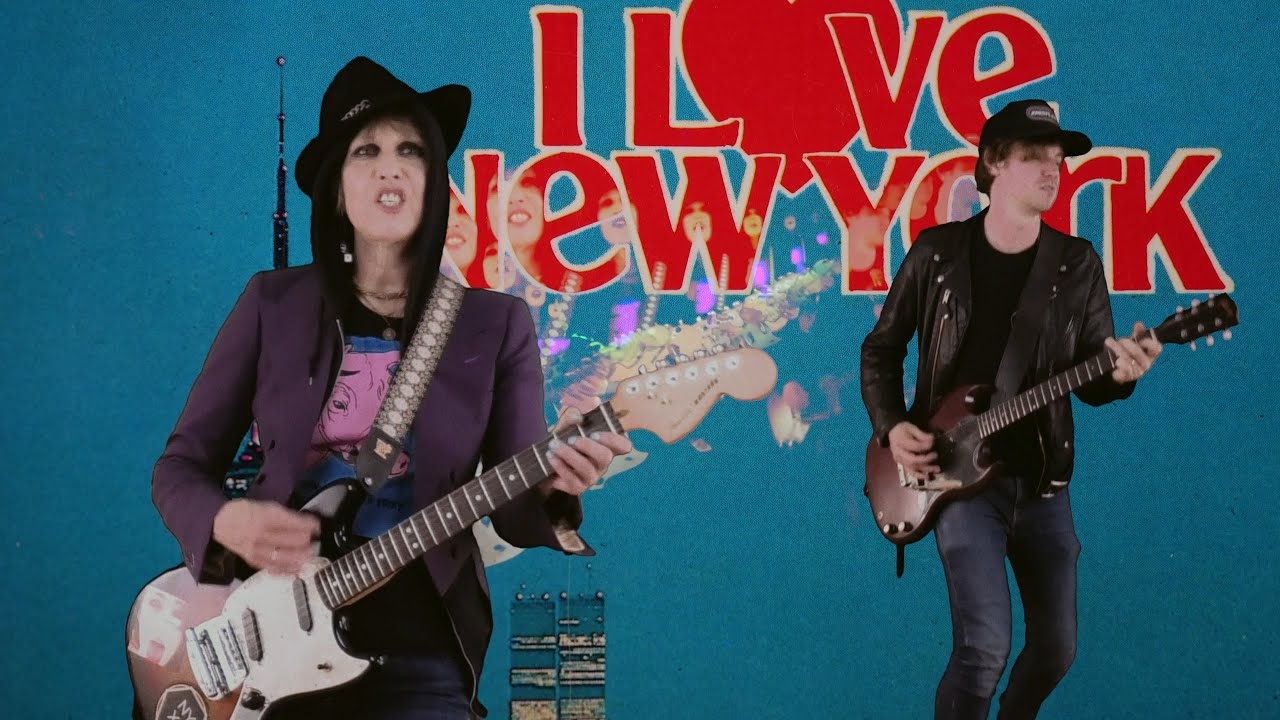 Pretenders - Maybe Love is in NYC (Official Video)