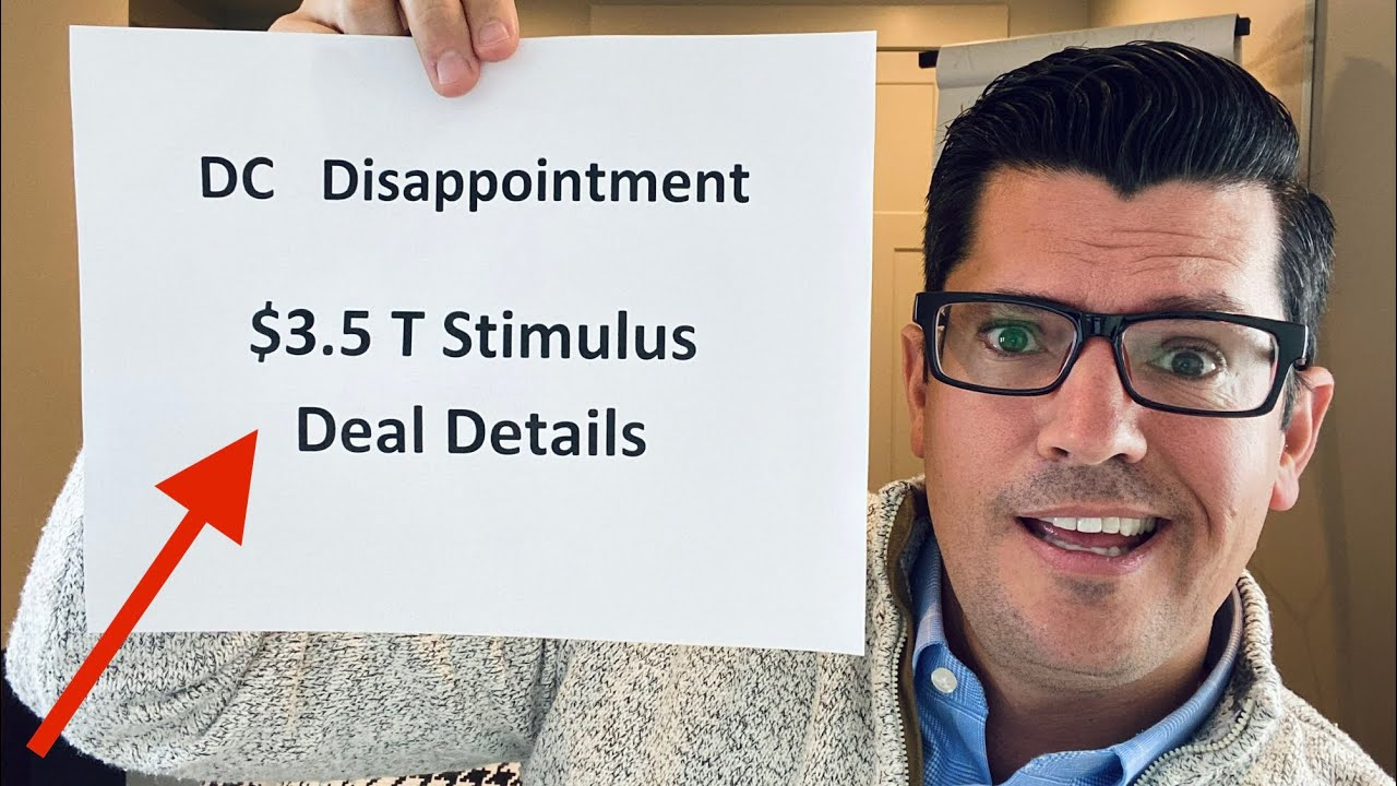 $3.5 T Stimulus Package WILL PASS | DC Disappointment As Democrats Make Demands On Pelosi