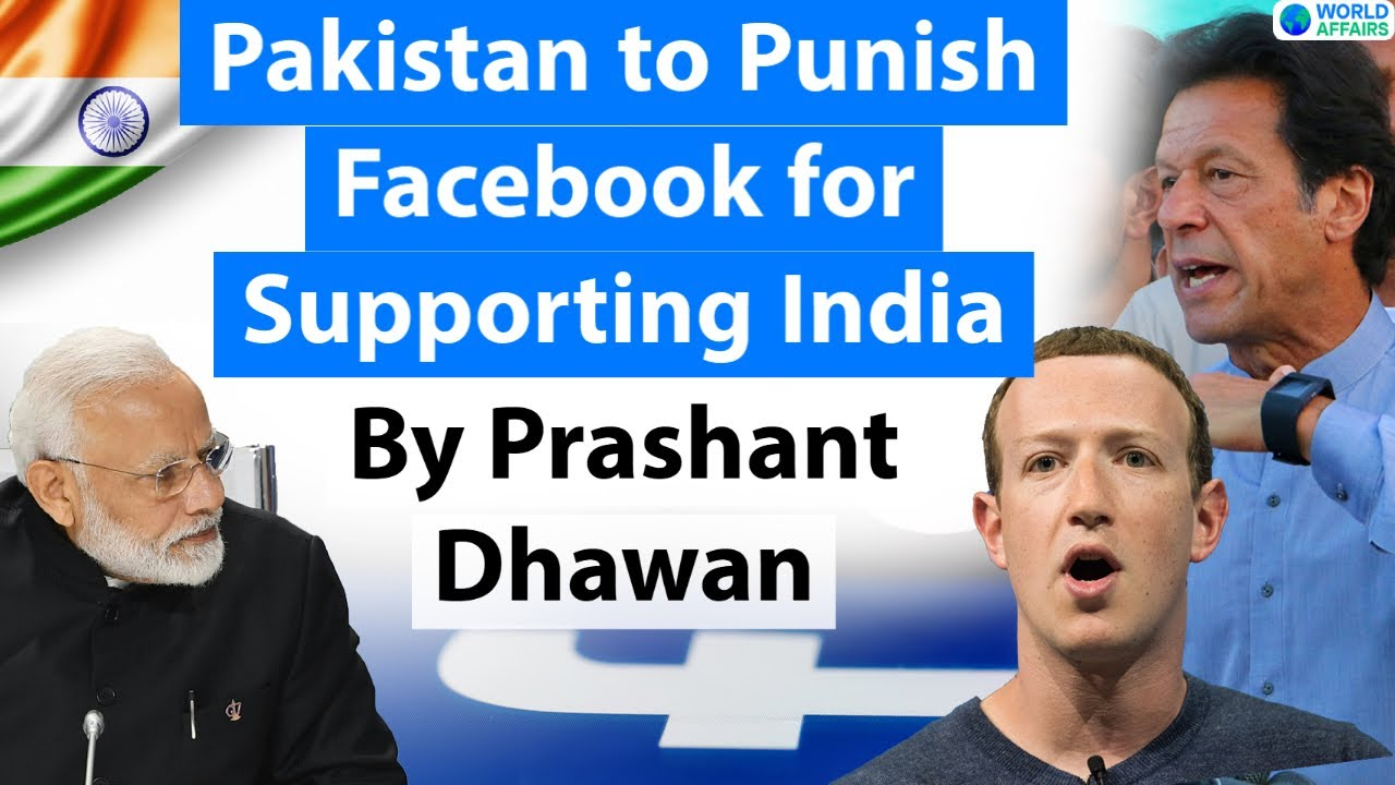 Pakistan to Punish Facebook for Supporting India on Kashmir