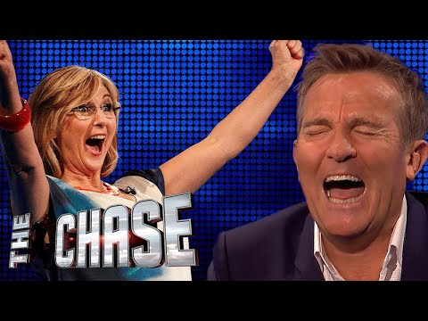 Bradley Walsh Looses It Over Plums Question | The Celebrity Chase