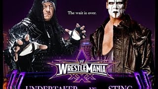 The Undertaker vs Sting Wrestlemania 30 Promo HD (Streak vs Career)