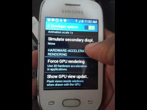 Samsung galaxy pocket neo ( android 4.4.2) lag fix