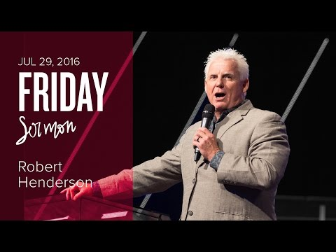 Introduction to the Courts of Heaven - Robert Henderson (Friday, 29 Jul 2016)