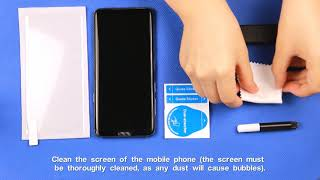 3D Glass Screen Protector Installation Instruction - 181201