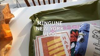 [Sub] 밍구네 뉴욕일상, 딸기모찌, 브루클린 쇼핑,…