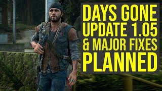 Days Gone Update 1.05 And Major Fixes Planned Days Gone PS4   Days Gone 1.05