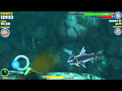 How to find the kempy bass in hungry shark. Happy shark week!