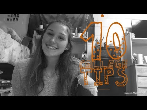 10 COLLEGE TIPS||Salisbury University