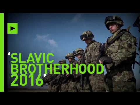 Slavic Brotherhood 2016: Russia, Serbia & Belarus hold joint military drills