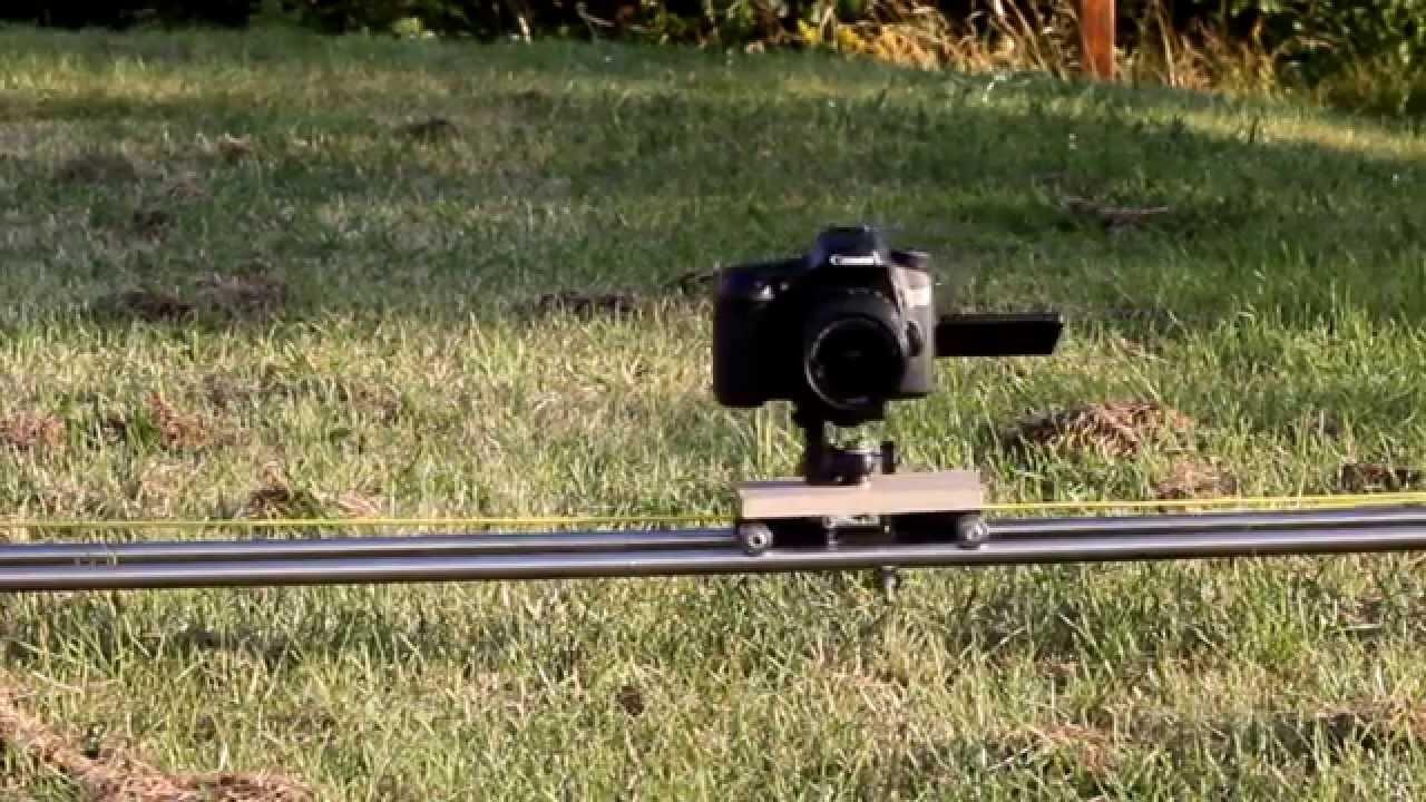 Camera Camera Slider Dslr diy dslr camera slider test canon 70d youtube