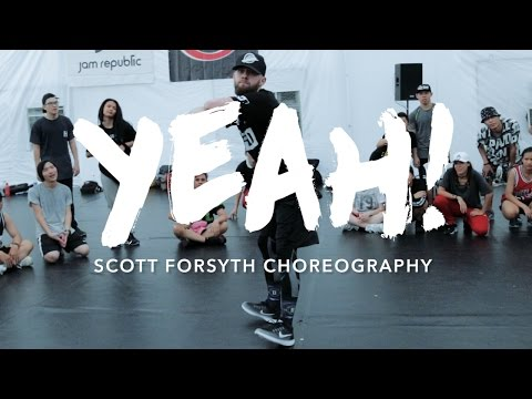 Yeah! Usher ft Lil Jon, Ludacris | Scott Forsyth Choreography | Summer Jam Dance Camp 2016