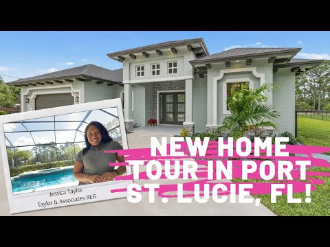 New Construction Home Teaser Tour In Port St. Lucie!! #portstlucie 🏘