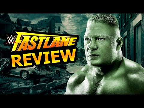 LIVE - REVIEW - WWE FASTLANE 2016