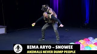 HITAM PUTIH | ANIMALS NEVER DUMP PEOPLE (03/01/18) 3-4