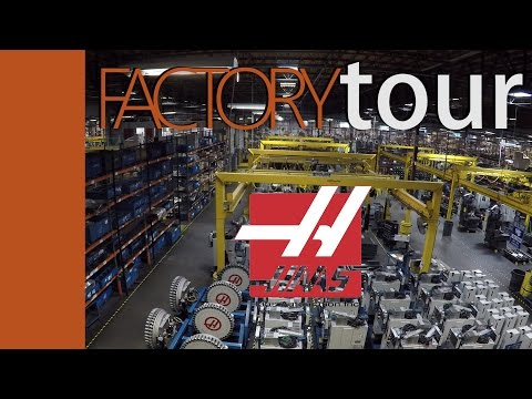 HAAS Factory Tour!  AMAZING size and number of CNC machines!