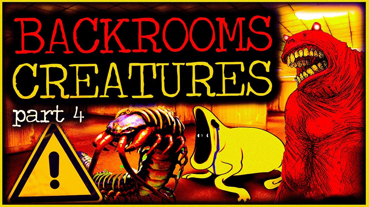 Download The Backrooms Creatures & Entities Explained   Part 4