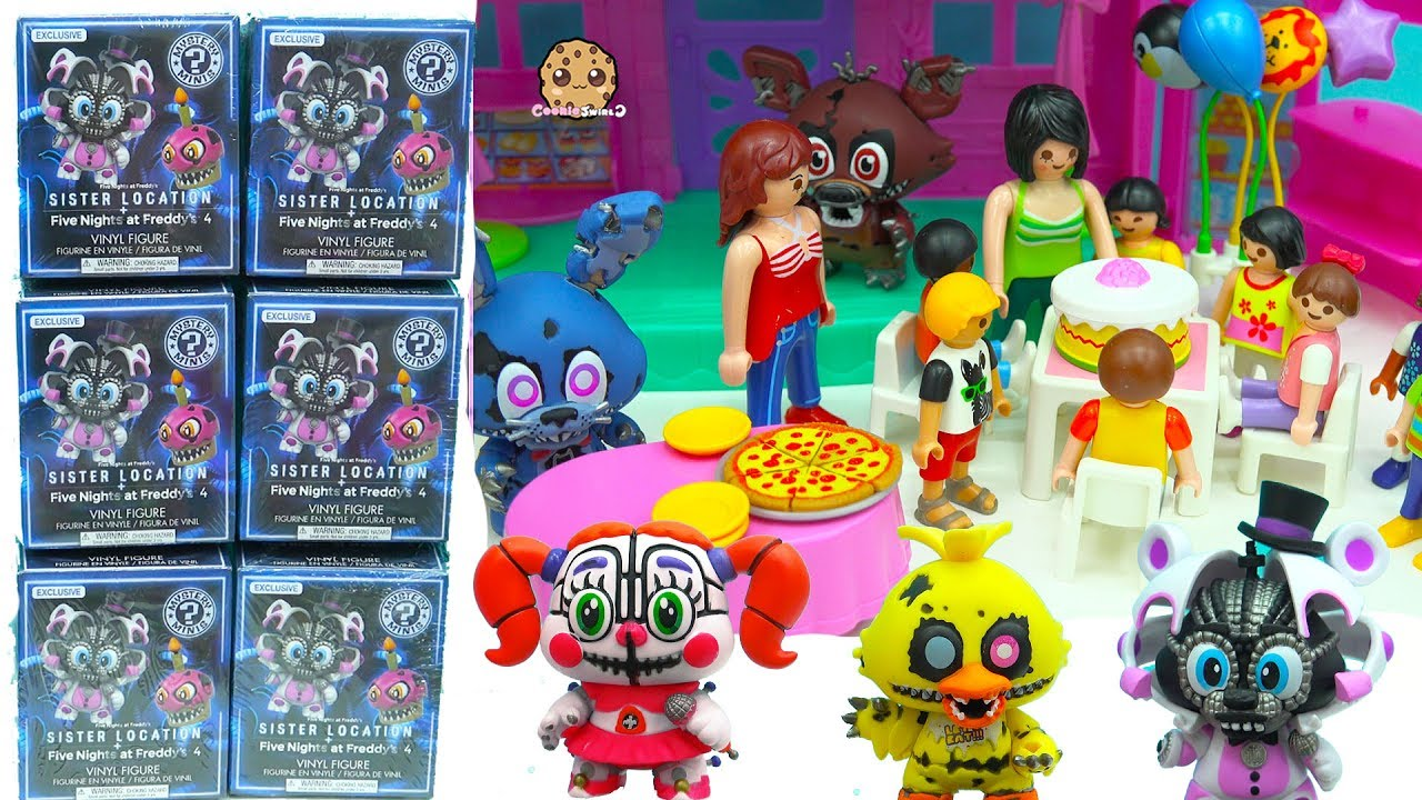 Dress up five nights at freedys - Birthday Party At Five Nights At Freddy S Sister Location Funko Surprise Blind Bag Boxes