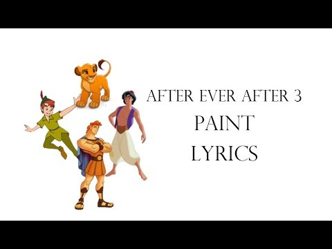 After Ever After 3 - Paint lyrics