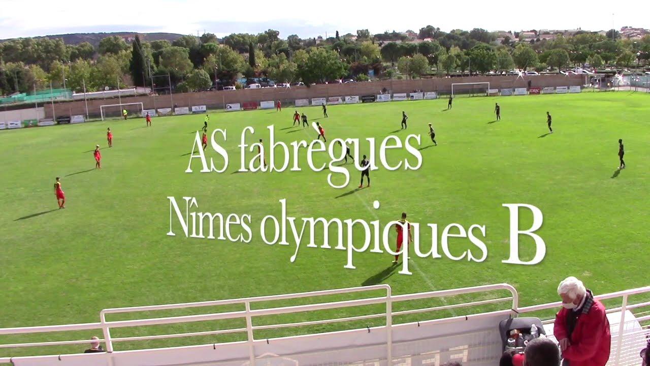 Résumé AS Fabrègues vs Nîmes olympiques B
