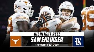 Sam Ehlinger Highlights: Texas vs. Rice (2019) | Stadium
