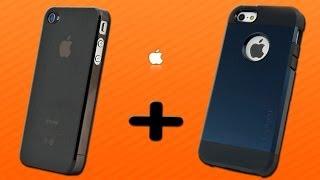 Две посылки с Алиэкспресс, чехлы на iPhone 4s