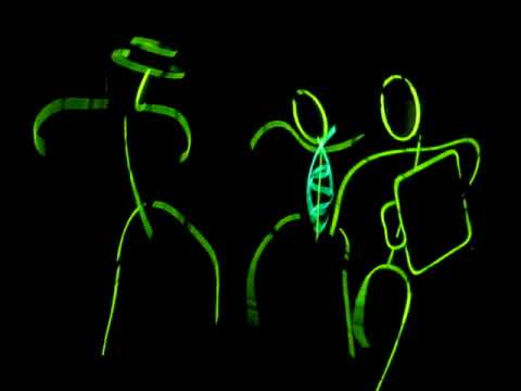 glow stick figure halloween dance party the caesars youtube - Glow Sticks For Halloween