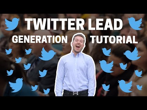 Twitter Lead Generation Card: Full Setup Tutorial