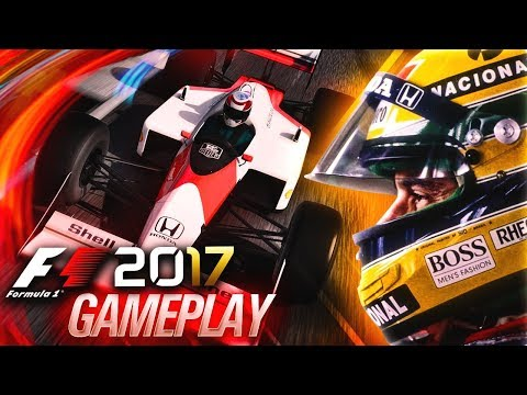 F1 2017 PREVIEW GAMEPLAY: Driving Senna's Mclaren