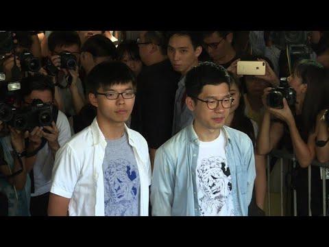 Hong Kong's Umbrella Movement leaders jailed