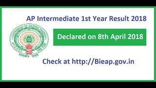 AP Inter 1st Year Results 2018 Andhra Pradesh Junior Intermediate First Year Result 2018
