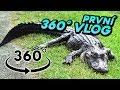První 360  VLOG  Setkání s aligátory
