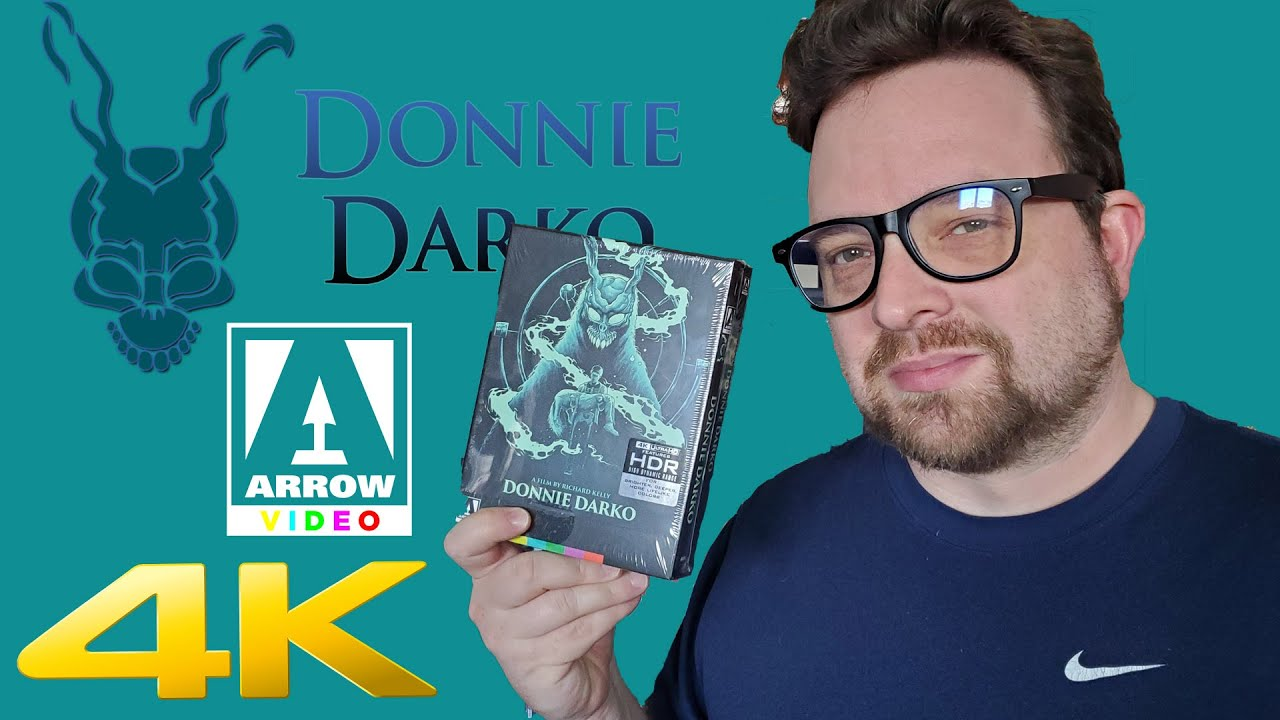 Donnie Darko LE 4K from Arrow Video Unboxing.