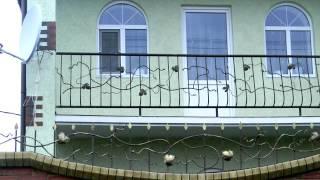 видео Кованые металлические ограждения балконов