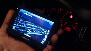 видео Обзор GPS-навигаторов xDevice