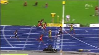 保特Usain Bolt 100米100 M 世界紀錄 World Record 9.58秒