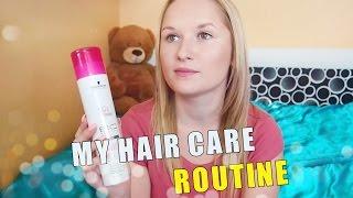 Moje péče o vlasy | My hair care routine