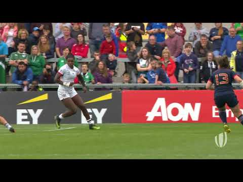 Relive: USA score length of the pitch try at Women