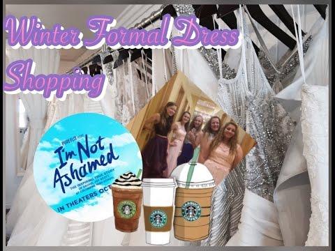 Winter Formal Dress Shopping, Walkin' the Runway, I'm Not Ashamed! | Lauren's Lifestyle