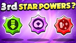 UPDATE IDEA! - 3rd STAR POWERS On Every Brawler In Brawl Stars!
