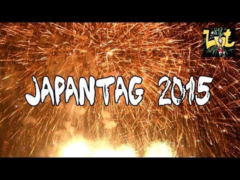 Japantag 2015 Düsseldorf Feuerwerk