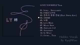 BTS – LOVE YOURSELF 轉 'Tear' HIDDEN VOCALS