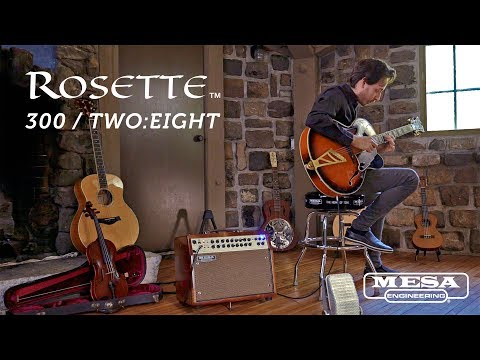 MESA® Rosette™ 300 / Two:Eight Acoustic Combo – Archtop Jazz
