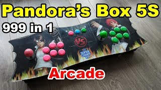 Pandora's Box 5S Plus 999 in 1 Arcade SuperGun Console
