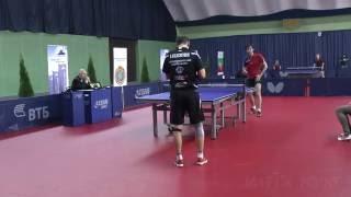 Denys Kalachevskyi - Taras Merzlikin. 2016 ITTF World Tour Belarus Open