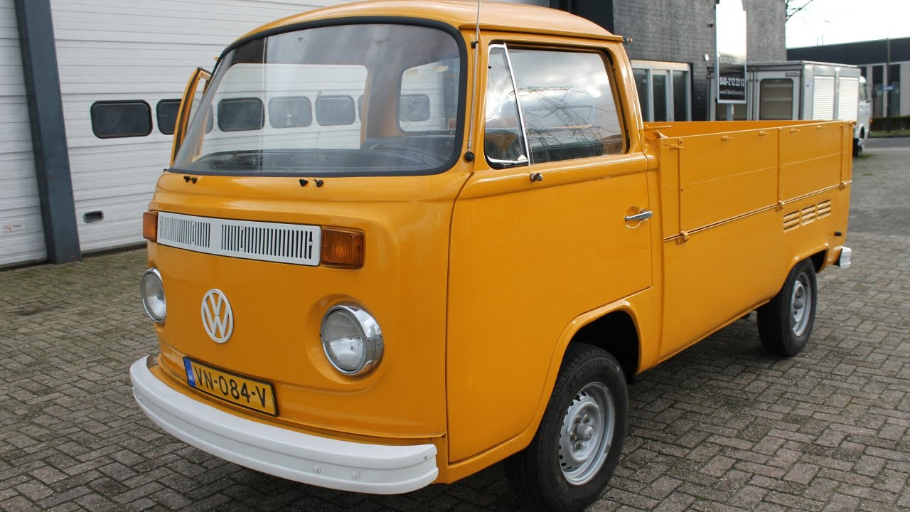 volkswagen t2 oldtimer bj 1979 pick up youtube. Black Bedroom Furniture Sets. Home Design Ideas